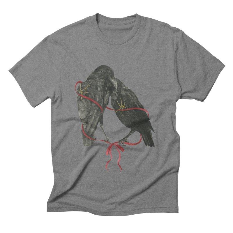 Hope & Love Men's T-Shirt by Stephanie Inagaki