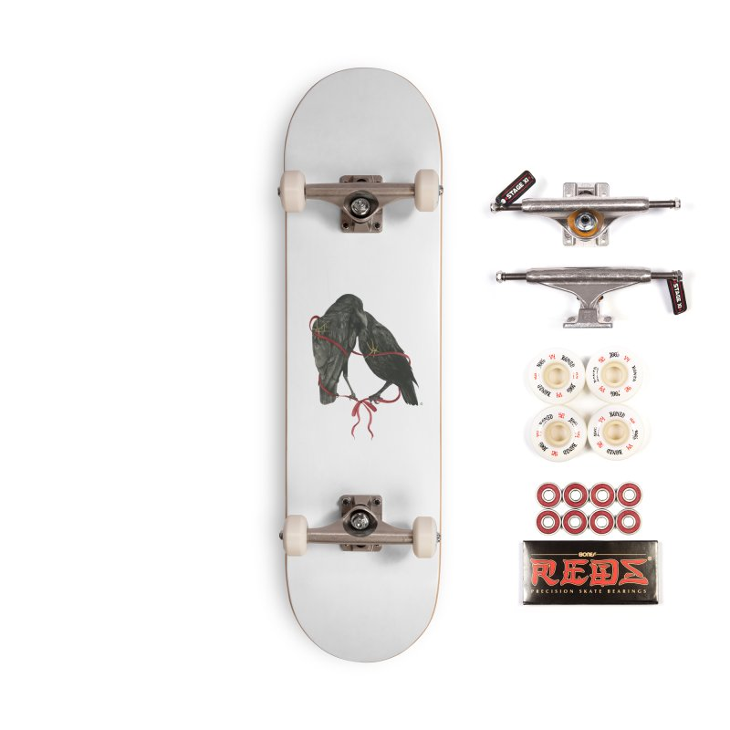 Hope & Love Accessories Skateboard by Stephanie Inagaki