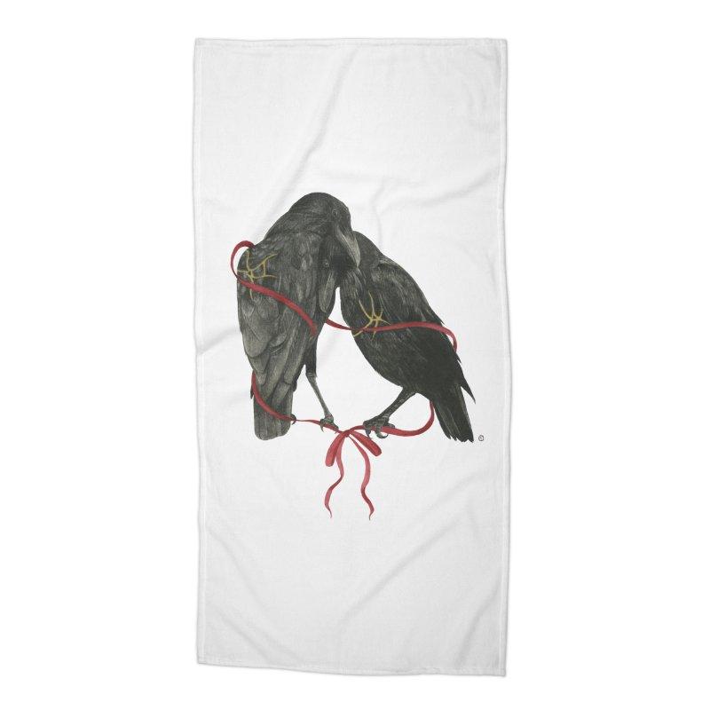 Hope & Love Accessories Beach Towel by Stephanie Inagaki