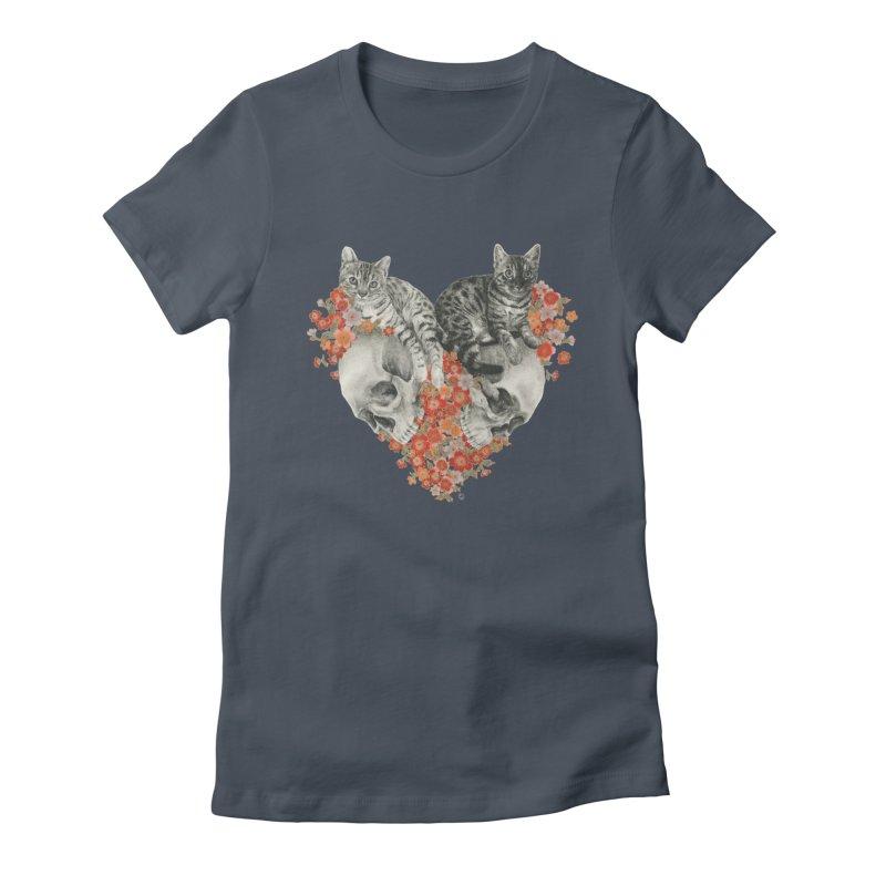 Sumie & Bizen Women's T-Shirt by Stephanie Inagaki