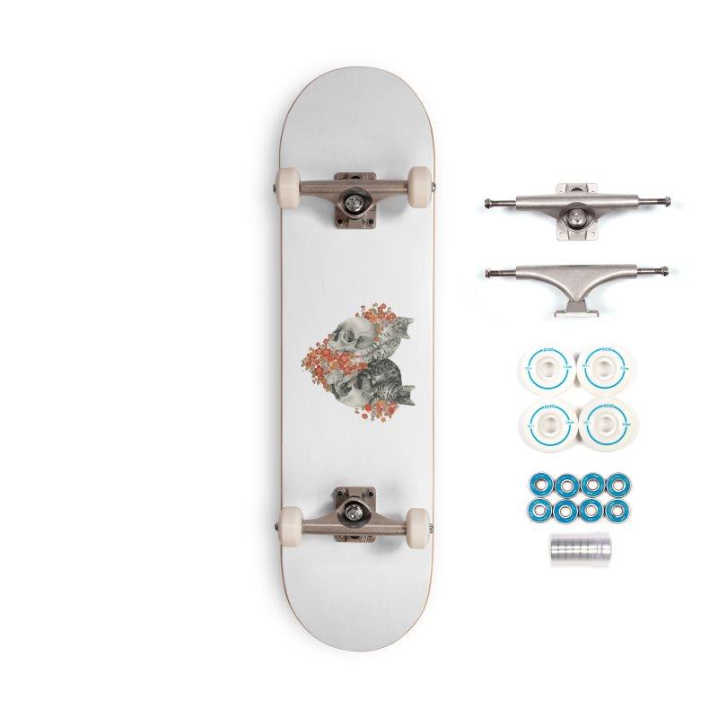 Sumie & Bizen Accessories Skateboard by Stephanie Inagaki