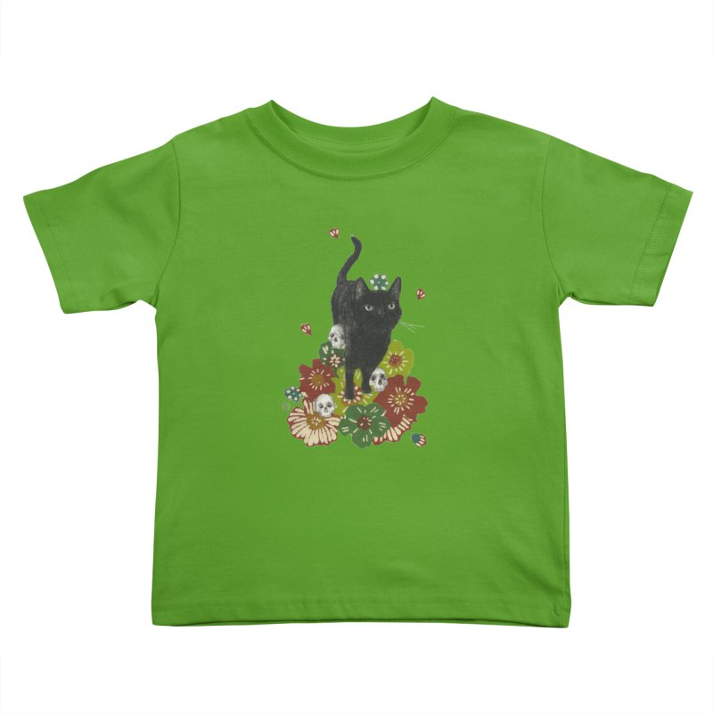 Blossoms Kids Toddler T-Shirt by Stephanie Inagaki
