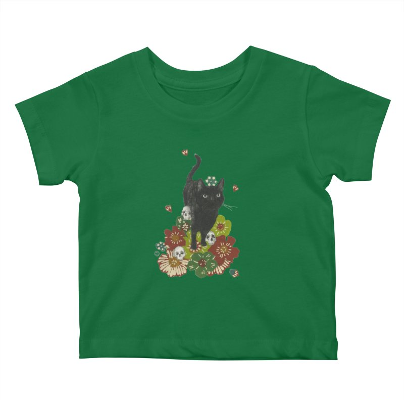 Blossoms Kids Baby T-Shirt by Stephanie Inagaki