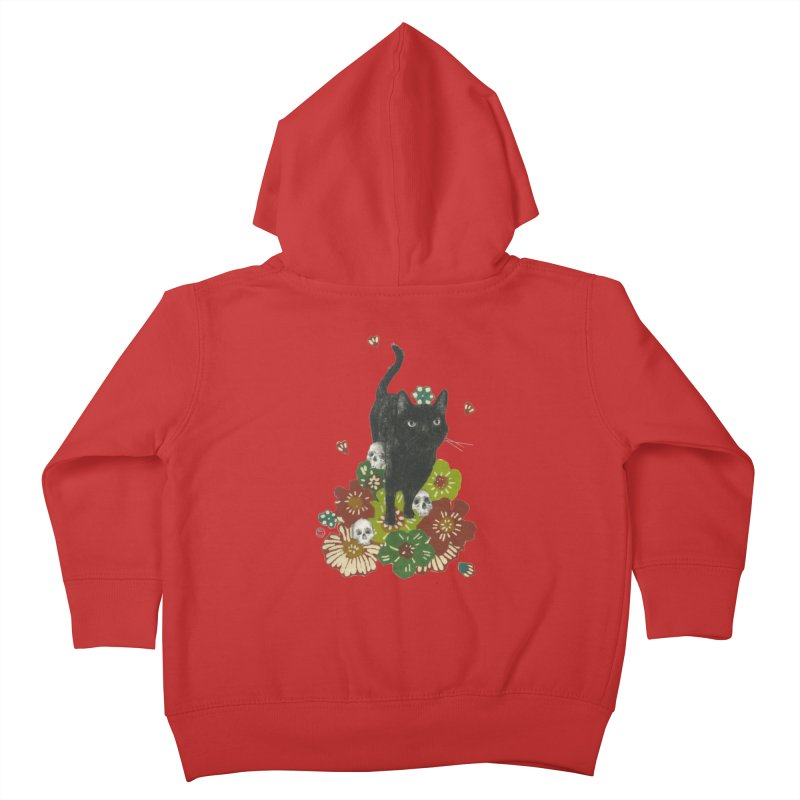 Blossoms Kids Toddler Zip-Up Hoody by Stephanie Inagaki