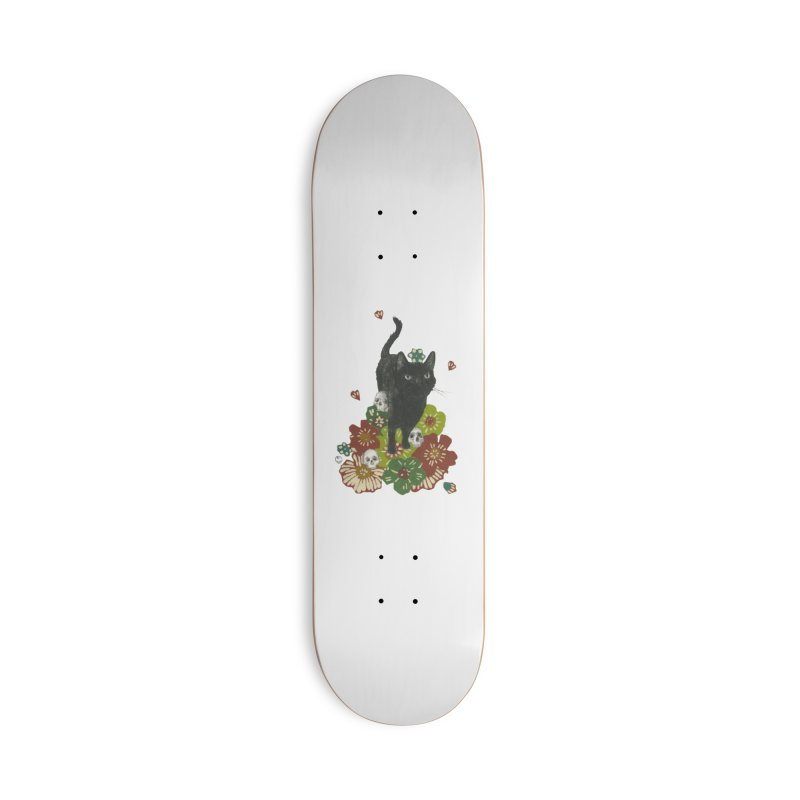 Blossoms Accessories Skateboard by Stephanie Inagaki