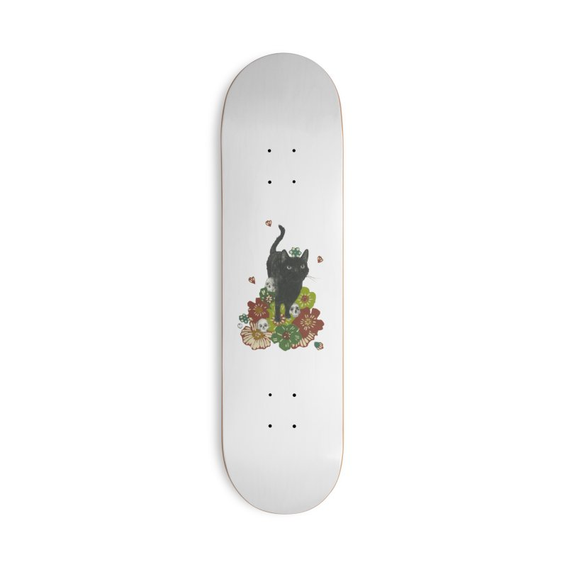 Blossoms Accessories Skateboard by Stephanie Inagaki