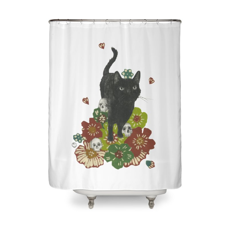Blossoms Home Shower Curtain by Stephanie Inagaki