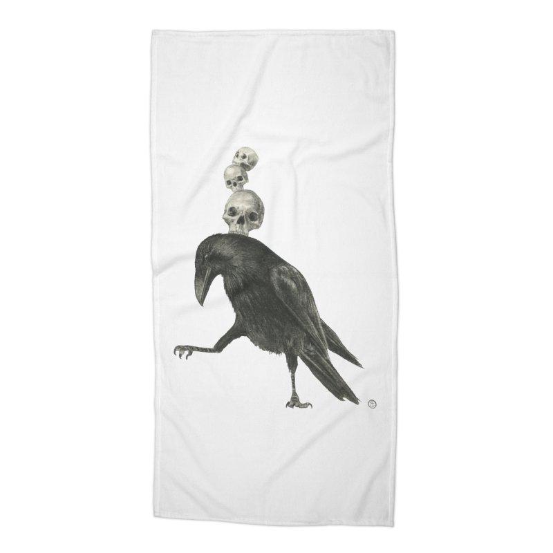 The Dance Accessories Beach Towel by Stephanie Inagaki