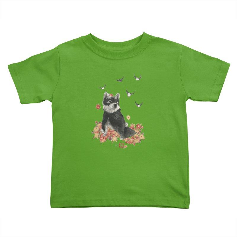 BatMomo Kids Toddler T-Shirt by Stephanie Inagaki