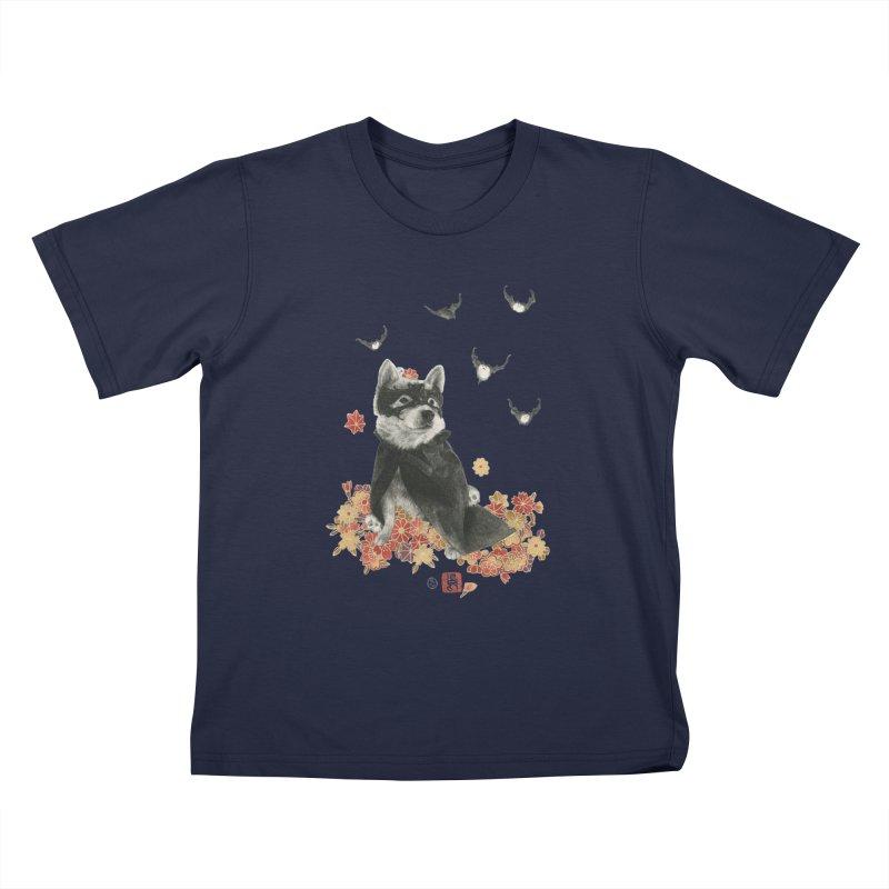 BatMomo Kids T-Shirt by Stephanie Inagaki