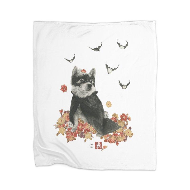 BatMomo Home Blanket by Stephanie Inagaki