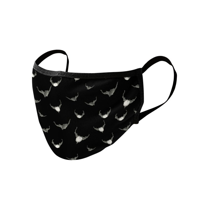 Release the Bats Accessories Face Mask by Stephanie Inagaki