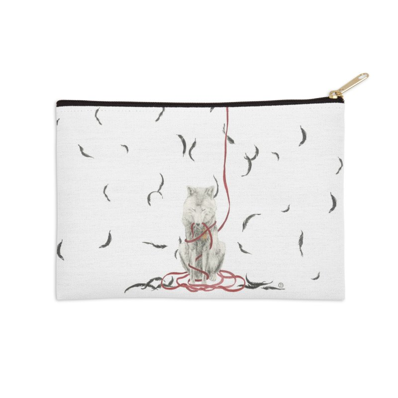 Entangled Accessories Zip Pouch by Stephanie Inagaki
