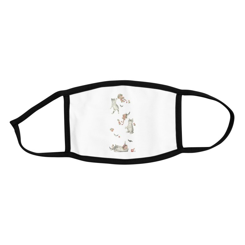 Kitten Play Accessories Face Mask by Stephanie Inagaki