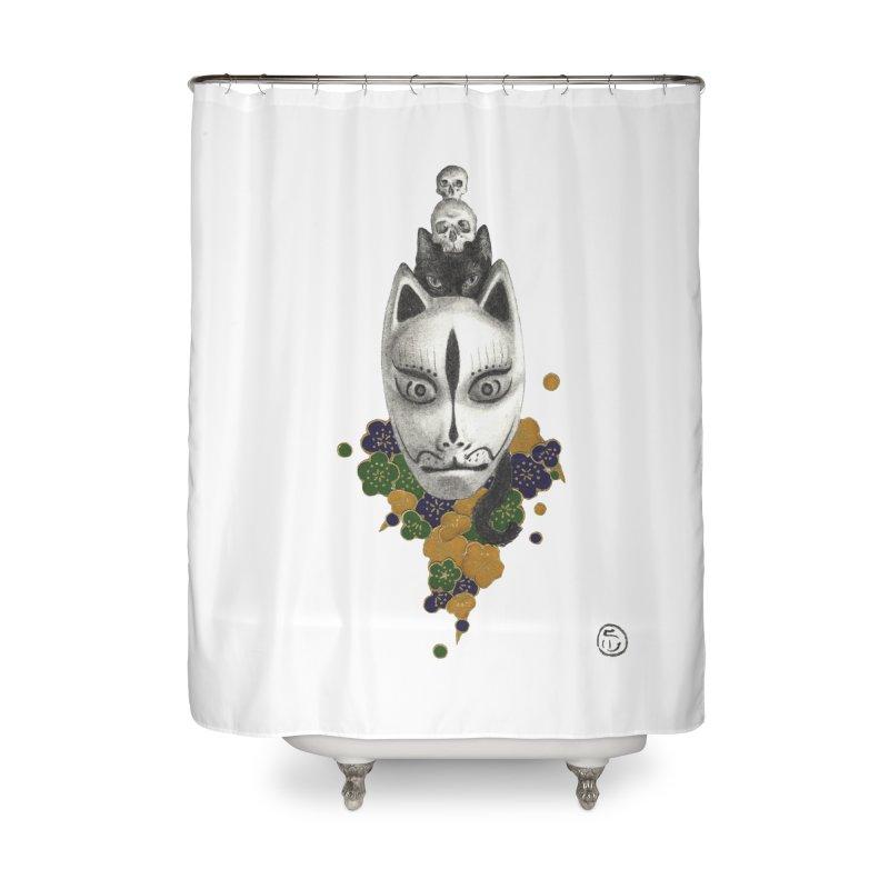 Totem Home Shower Curtain by stephanieinagaki's Artist Shop