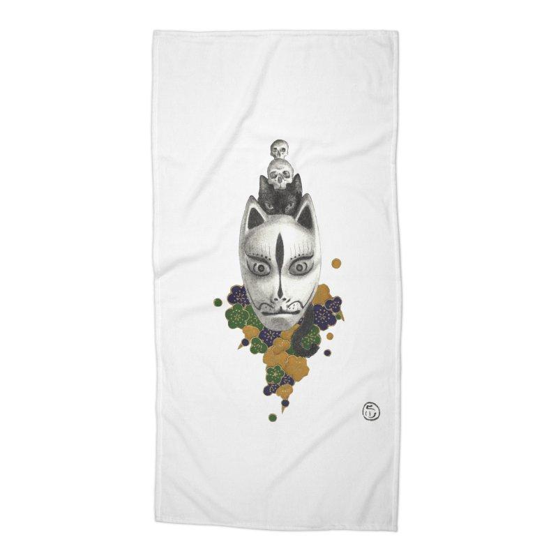 Totem Accessories Beach Towel by stephanieinagaki's Artist Shop
