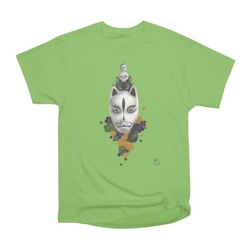 Totem Men's Heavyweight T-Shirt by Stephanie Inagaki