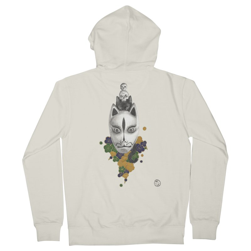 Totem Men's French Terry Zip-Up Hoody by stephanieinagaki's Artist Shop