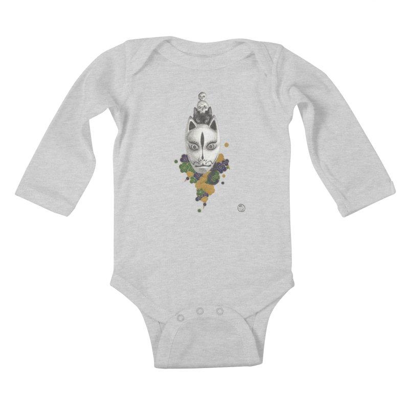Totem Kids Baby Longsleeve Bodysuit by stephanieinagaki's Artist Shop