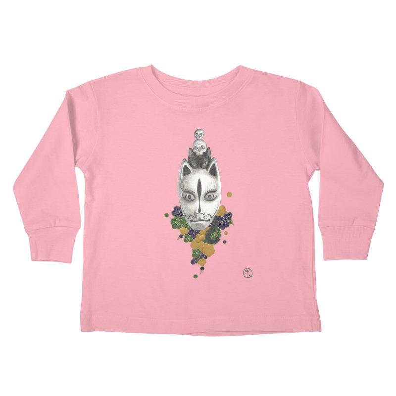 Totem Kids Toddler Longsleeve T-Shirt by stephanieinagaki's Artist Shop