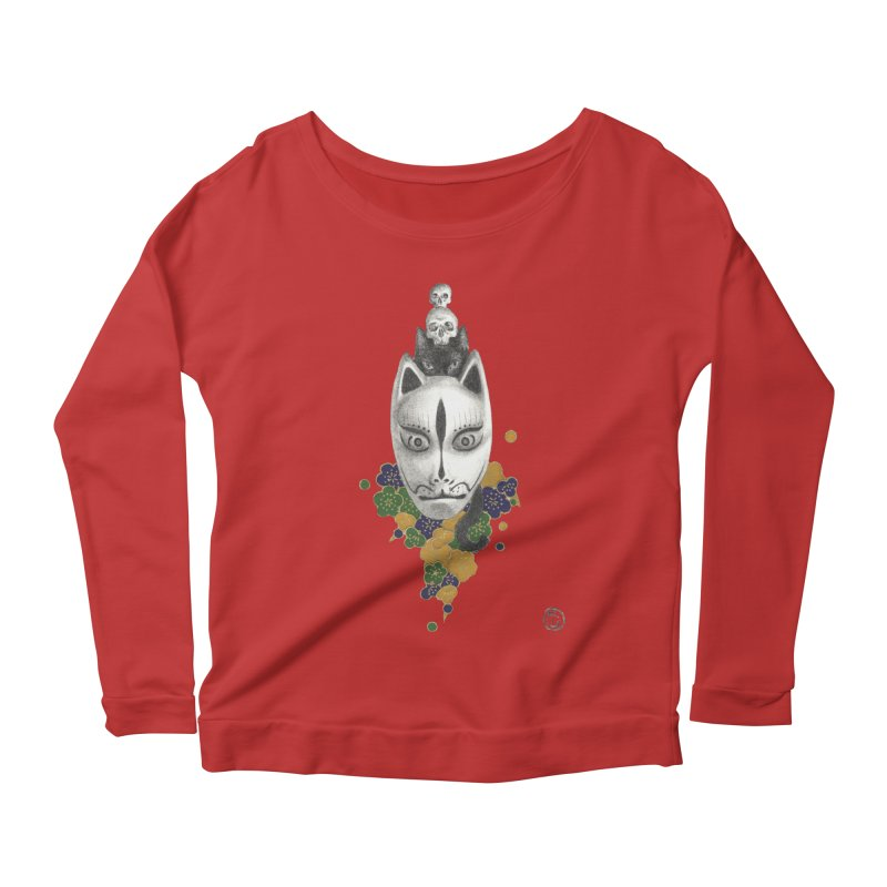 Totem Women's Scoop Neck Longsleeve T-Shirt by Stephanie Inagaki