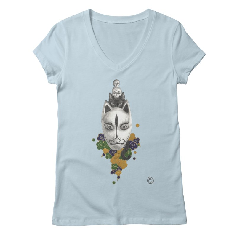 Totem Women's Regular V-Neck by Stephanie Inagaki