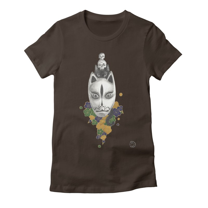 Totem Women's Fitted T-Shirt by Stephanie Inagaki