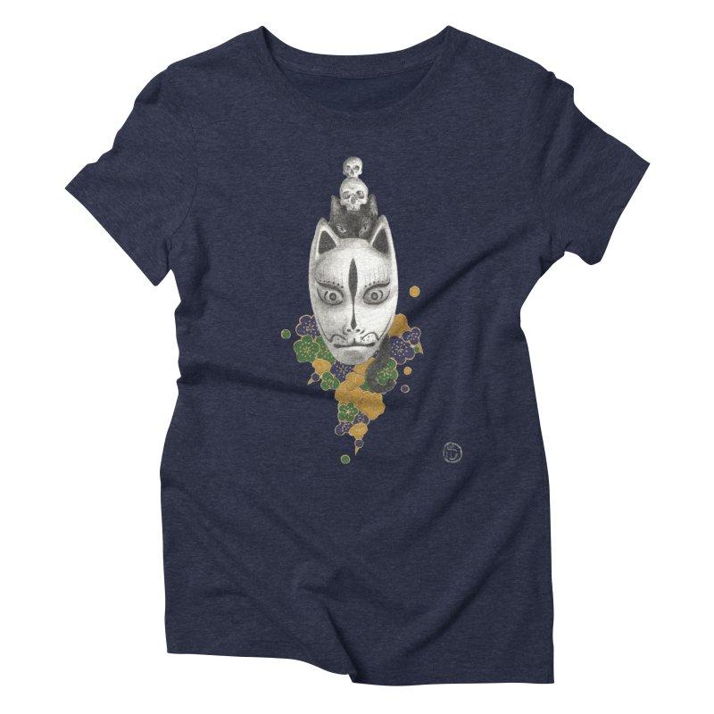 Totem Women's Triblend T-Shirt by Stephanie Inagaki