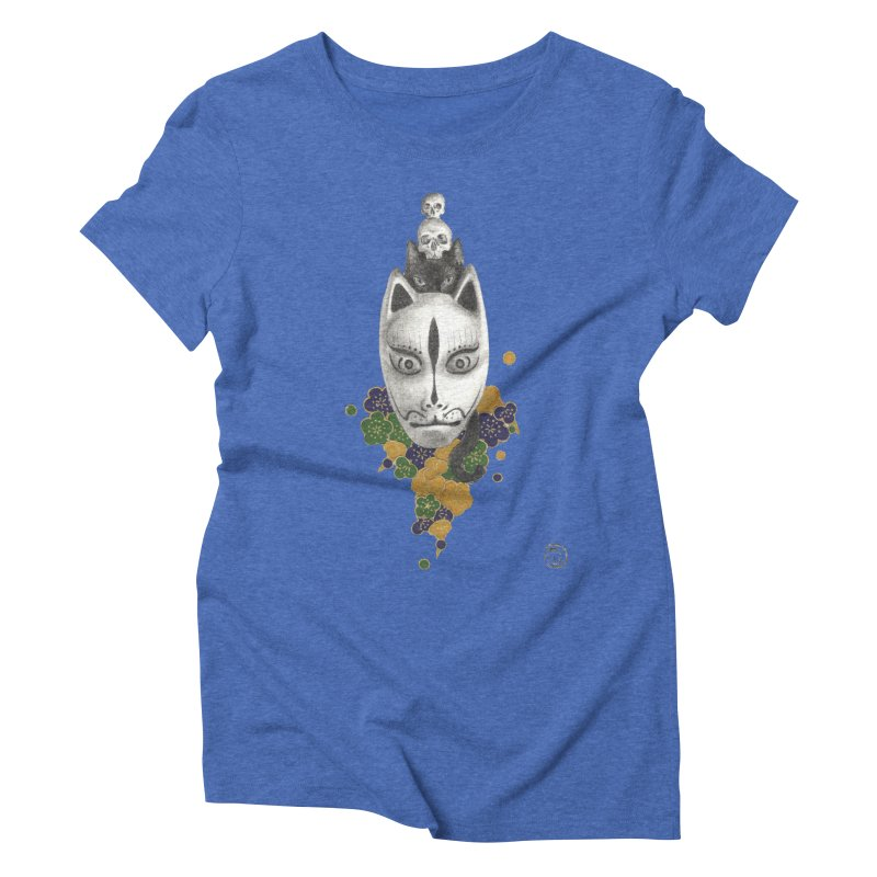 Totem Women's Triblend T-Shirt by stephanieinagaki's Artist Shop