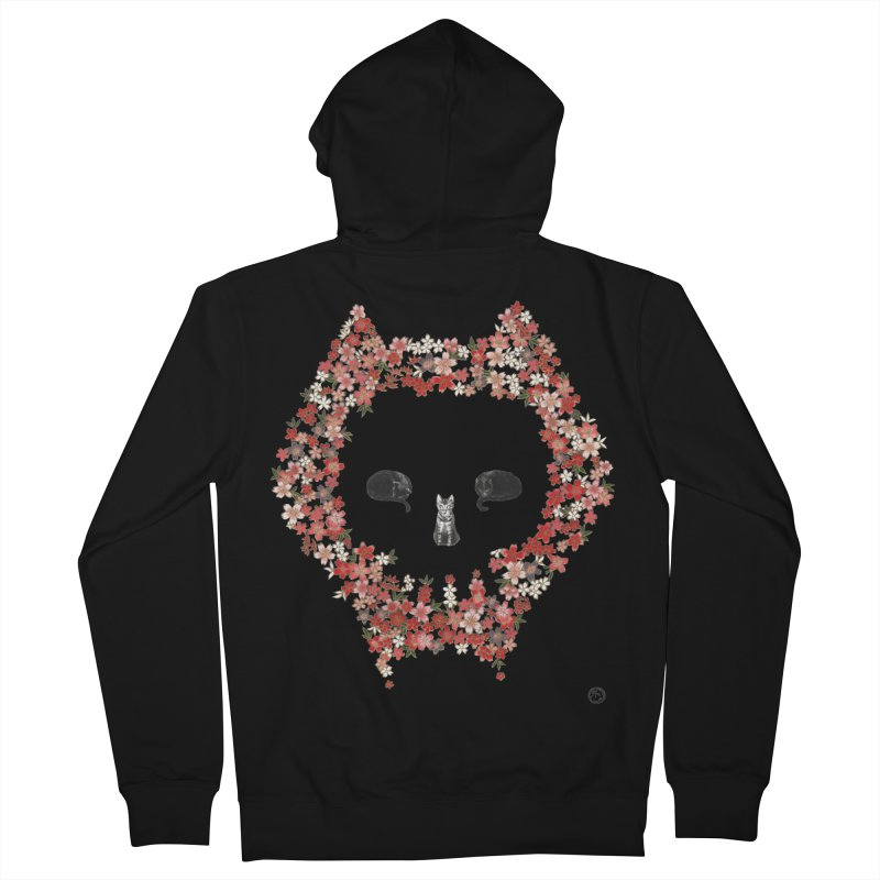 The Devil's Minions Women's French Terry Zip-Up Hoody by Stephanie Inagaki