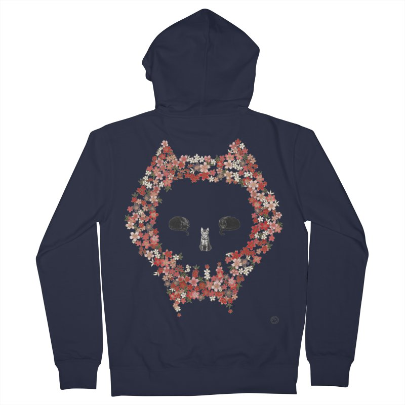 The Devil's Minions Men's French Terry Zip-Up Hoody by Stephanie Inagaki