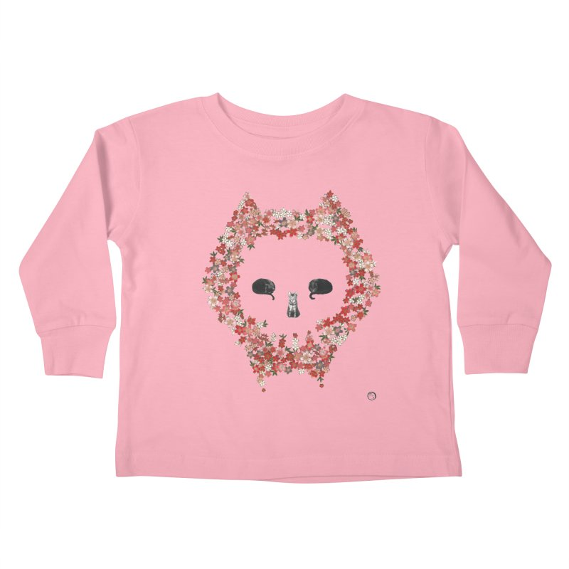 The Devil's Minions Kids Toddler Longsleeve T-Shirt by Stephanie Inagaki