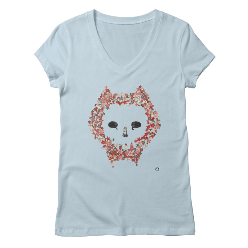 The Devil's Minions Women's Regular V-Neck by Stephanie Inagaki