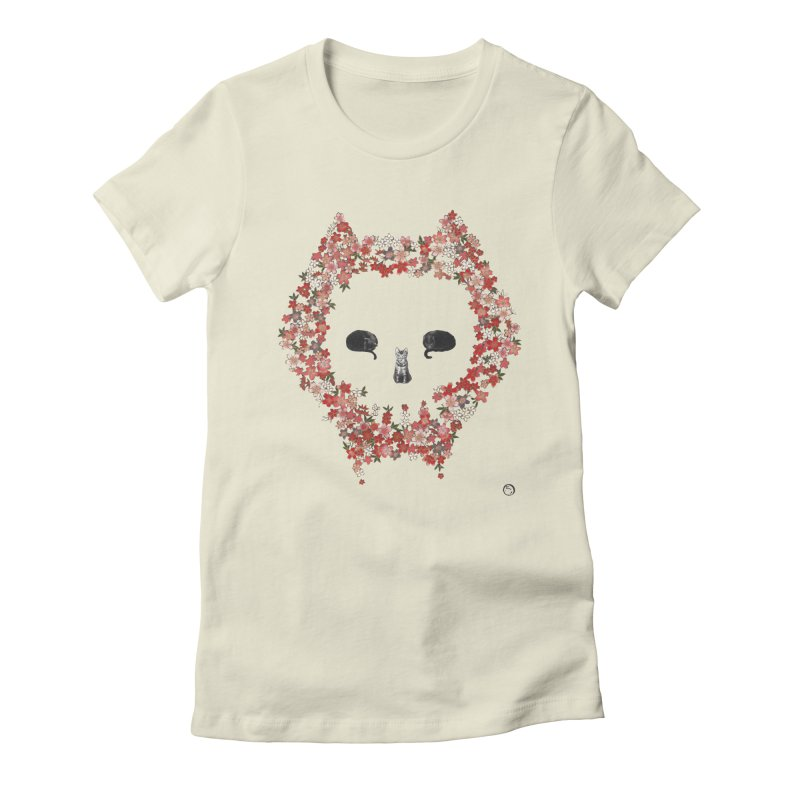 The Devil's Minions Women's Fitted T-Shirt by Stephanie Inagaki