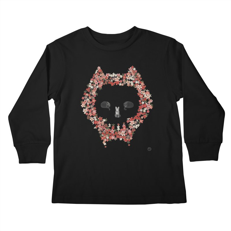 The Devil's Minions Kids Longsleeve T-Shirt by Stephanie Inagaki