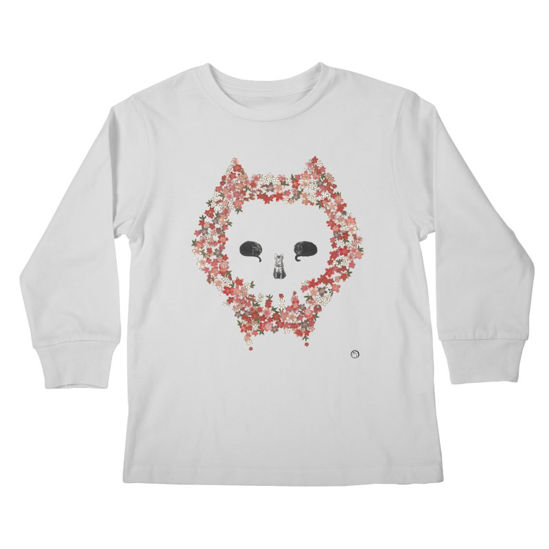 The Devil's Minions Kids Longsleeve T-Shirt by Stephanie Inagaki