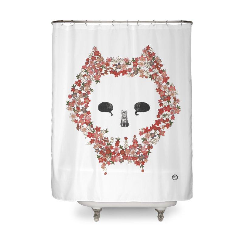 The Devil's Minions Home Shower Curtain by Stephanie Inagaki