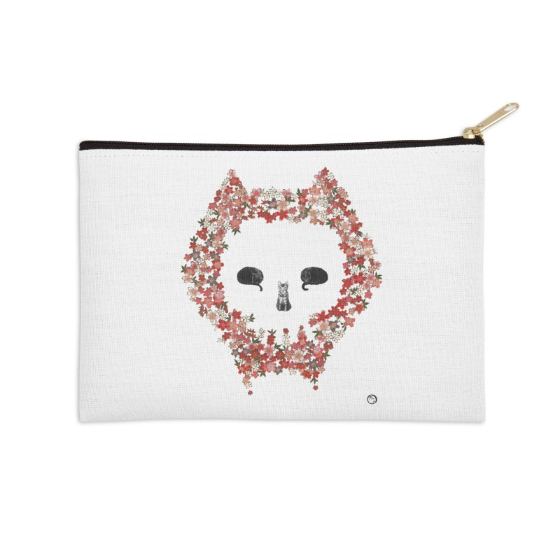 The Devil's Minions Accessories Zip Pouch by Stephanie Inagaki