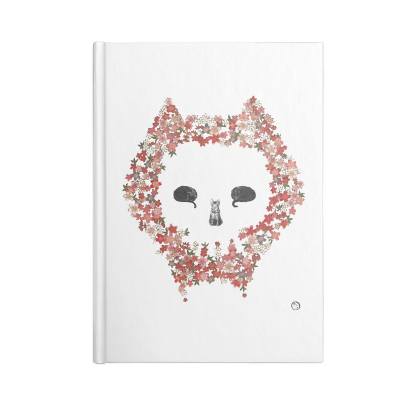 The Devil's Minions Accessories Lined Journal Notebook by Stephanie Inagaki