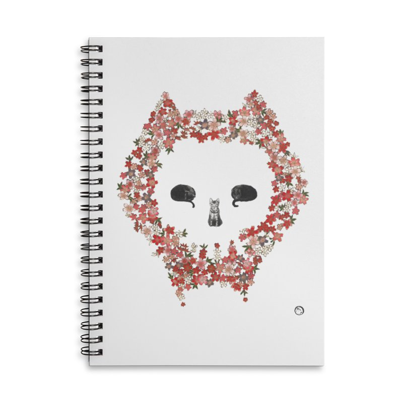 The Devil's Minions Accessories Lined Spiral Notebook by Stephanie Inagaki