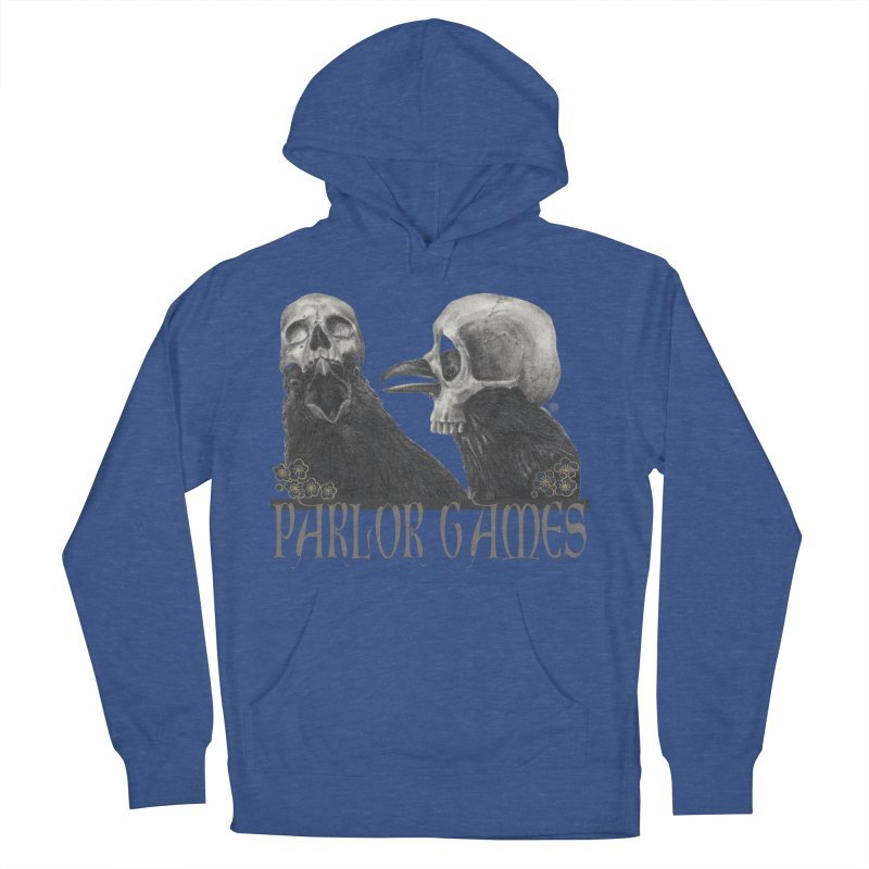 Parlor Games Women's French Terry Pullover Hoody by stephanieinagaki's Artist Shop