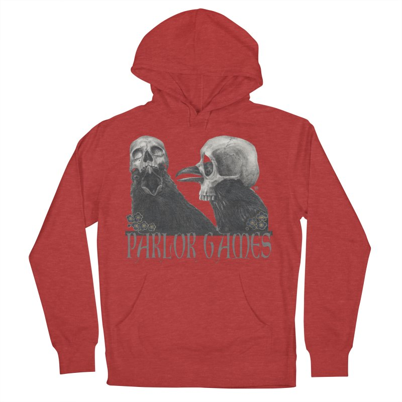 Parlor Games Women's French Terry Pullover Hoody by Stephanie Inagaki
