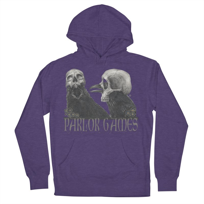 Parlor Games Men's French Terry Pullover Hoody by Stephanie Inagaki