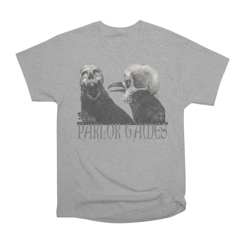 Parlor Games Women's Heavyweight Unisex T-Shirt by Stephanie Inagaki