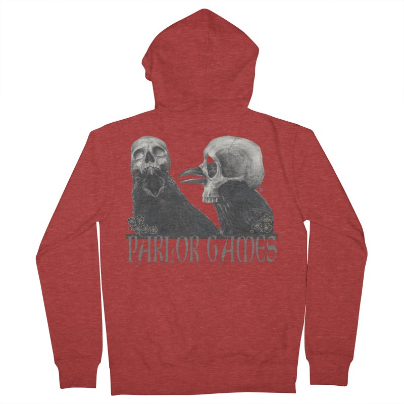 Parlor Games Men's French Terry Zip-Up Hoody by stephanieinagaki's Artist Shop