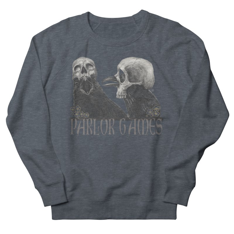 Parlor Games Women's French Terry Sweatshirt by stephanieinagaki's Artist Shop