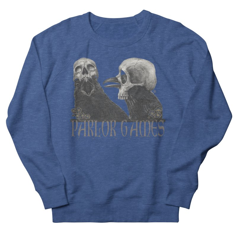 Parlor Games Men's French Terry Sweatshirt by Stephanie Inagaki
