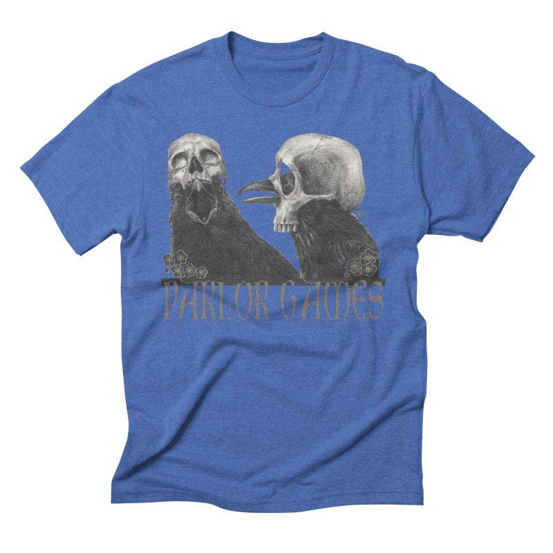 Parlor Games Men's Triblend T-Shirt by stephanieinagaki's Artist Shop