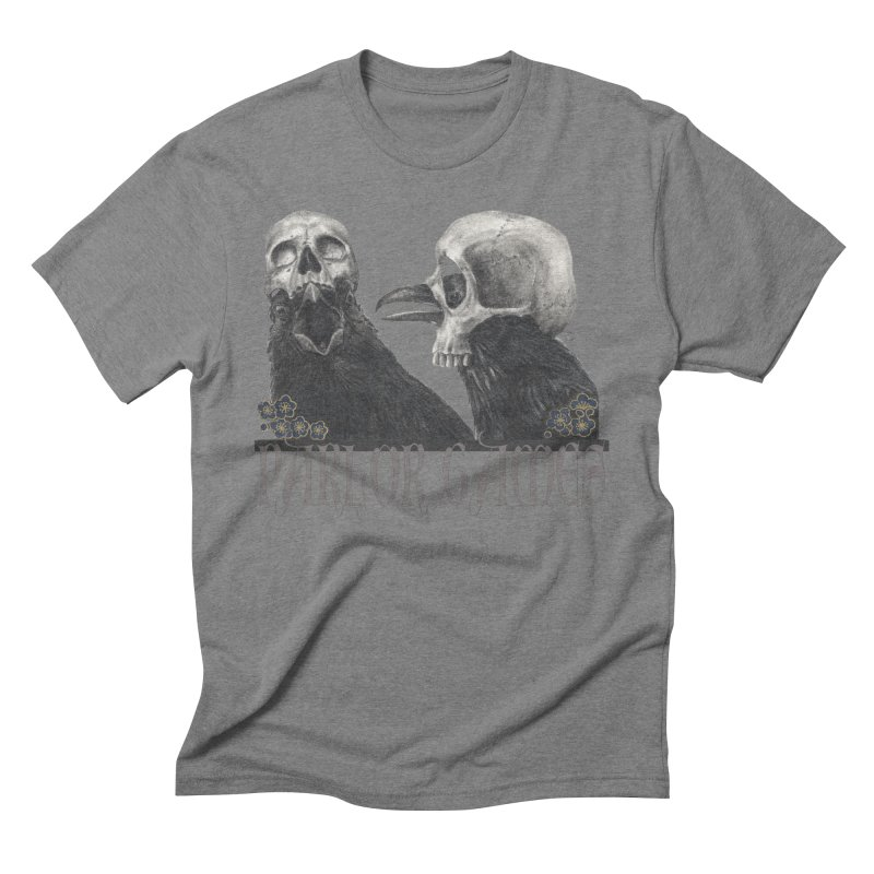 Parlor Games Men's Triblend T-Shirt by Stephanie Inagaki