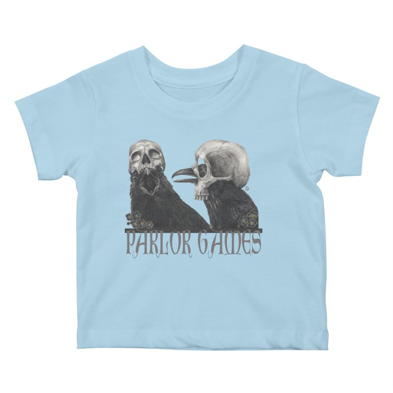 Parlor Games Kids Baby T-Shirt by Stephanie Inagaki